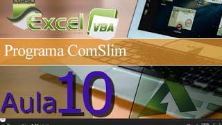 Excel VBA - Aula 10 Programa COMSlim - Converta Excel para .exe