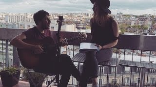 IL Y A - Vanessa Paradis (Cover by Timothée Levi & Elise Bentz) │ Paris Balcon Session