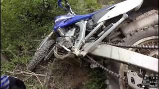 Rampart Range Crash into a Tree