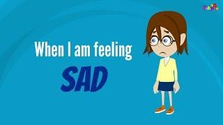 When i am feeling sad | Feeling and Emotion Management by BabyA Nursery Channel