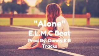 "''Alone"" - Inspiring Sad Piano x Drums Beat Rap/Hip Hop Instrumental - E.L.M.C Beat"