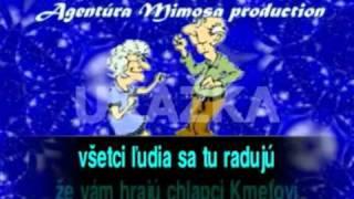 Kmetoband   Dnes vecer vám zábavu hráme MIMOSA KARAOKE 1   YouTube3   Copy