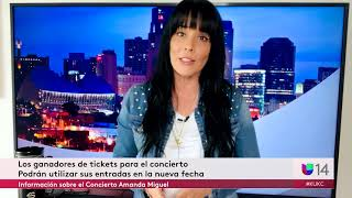 Información sobre el Concierto Amanda Miguel y la Feria de Salud