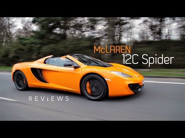Why The McLaren 12C Spider Is The World's Friendliest Supercar