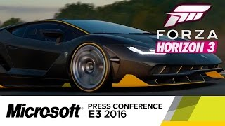 Forza Horizon 3 - Official E3 Trailer