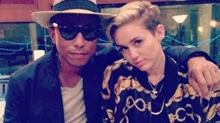 Pharrell Williams -- Come Get It Bae ft Miley Cyrus (Official Track) -- LEAKED