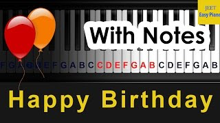 Easy Piano Songs for Beginners Happy Birthday