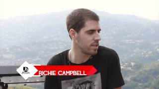 Richie Campbell on writing songs in English vs Portuguese - Jussbuss Acoustic
