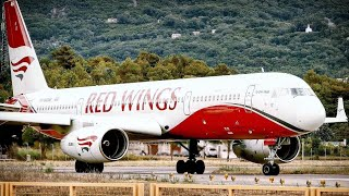 Tupolev Tu-204 RedWings - Beautiful & Scenic Take Off from Tivat Airport