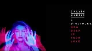 Calvin Harris & Disciples - How Deep Is Your Love (Full Studio Acapella)