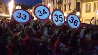 Festa do tetracampeão Benfica - Viana do Castelo