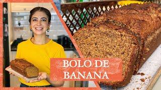 Como fazer um delicioso BANANA BREAD ou BOLO DE BANANA | LU ZAIDAN
