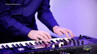 Roland VCombo VR09 Live Performance Keyboard-  Roland VR09 Funk Performance