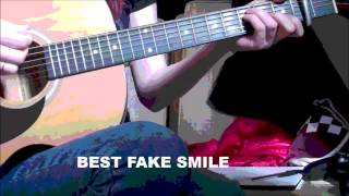 JAMES BAY - BEST FAKE SMILE ACOUSTIC GUITAR COVER [HD]