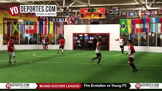 Fire Evolution vs. Young FC vs Mundi Soccer League