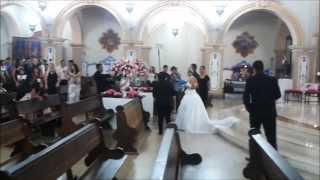 Saída dos Noivos, Música Titanium - David Guetta Casamento 30/11/2013