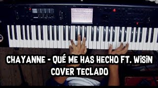 Que me has hecho Chayanne ft. Wisin Cover Teclado