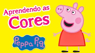 Aprendendo as cores com Peppa Pig em Portugues - Learning colors with Peppa Pig in Portuguese