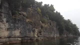 Cliff Jumping at Percy Priest Lake (45 ft.)