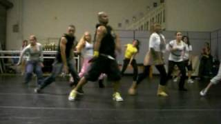 "LEOS HIP HOP DANCE CLASS "" DIVA "" BY BEYONCE VIDEO # 2"