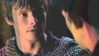 "Merlin/Arthur ""it's because of the sexual tension"" ~Crack!video"