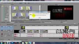 Sony Vegas Pro 11 Render (An error occured while creating the media file ) Hatası Çözümü
