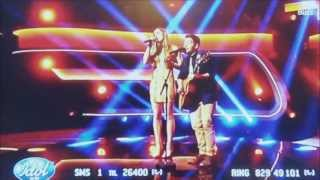 I'm On Fire - Siri Vølstad Jensen ft. Alejandro Fuentes - Idol Norway 2013