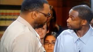 Judge Judy  Byrd gets MAD at defendant!!