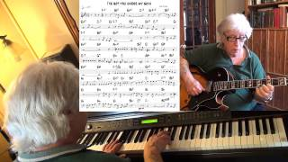 I've Got You Under My Skin - guitar & piano jazz cover - Yvan Jacques