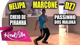 DZ7 - CHEIO DE PIRANHA QUERENDO ME DAR - PASSINHO DOS MALOKA - MC Lan ‹ Marcelo AFM ›