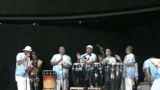 Grupo Emoriô  passando o som no festival Ogum guerreiro Katina ......