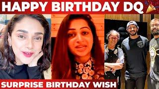 Hey Sinamika படத்தோட Team Members கொடுத்த Birthday Wish   Aditi Rao Hydari   Kajal Aggarwal