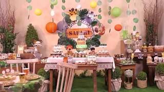Tutorial Festa Safari - Cromus é na MZ Decorações!