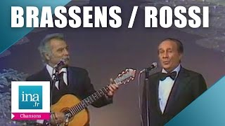 "Tino Rossi et Georges Brassens ""Santa Lucia"" (live officiel) 