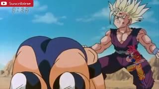 SSJ2 Gohan vs Cell Japanese sub español parte 2