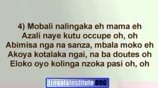 Temps Mort FRANCO   TPOK JAZZ Lyrics In Lingala, Paroles en Lingala