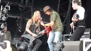 Fozzy (feat. Motorhead's Phil Campbell) : She's My Addiction @ Bloodstock Festival 2013