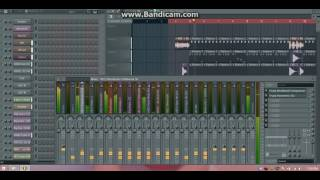 All over me - MDPC ft dj john FL studio