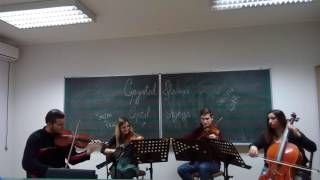Svilen Konac by Crystal Strings quartet