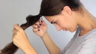 Couper ses cheveux soi même : Dégradé Effilé