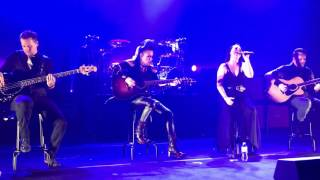 Evanescence - The Change (Acoustic) live at Eventim Apollo 14/06/2017