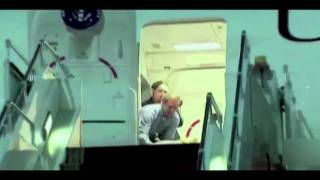 Hillary Clinton Farts And Falls Down While Boarding Plane!