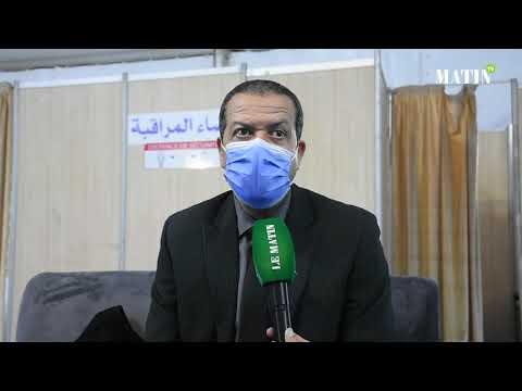 Video : Covid-19: Début à Rabat de la vaccination des professionnels de la Santé