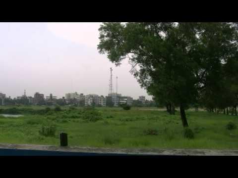アキーラさん市内散策34!バングラデシュ・ダッカ事件現場1!Dahka,Bangladesh