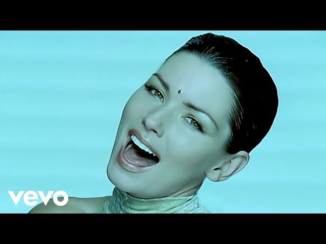 "Vídeo oficial de ""From This Moment On"" de Shania Twain."