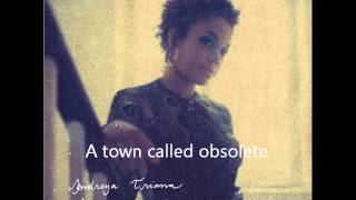 Andreya Triana: A Town Called Obsolete (Acoustic Live) With Lyrics
