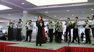 Giana Mijares - La Charreada live with Mariachi Imperial