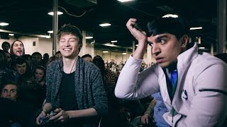 Leffen runs into Chillindude (feat. Mango) - Melee Story Time
