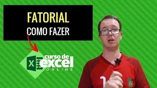 Fatorial no Excel - Como fazer Fatorial no Excel? Curso de Excel OnLine