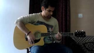 Linkin Park - SOMEWHERE I BELONG - Guitar 1 (Brad Delson's Guitar Part) - Acoustic Guitar Cover
